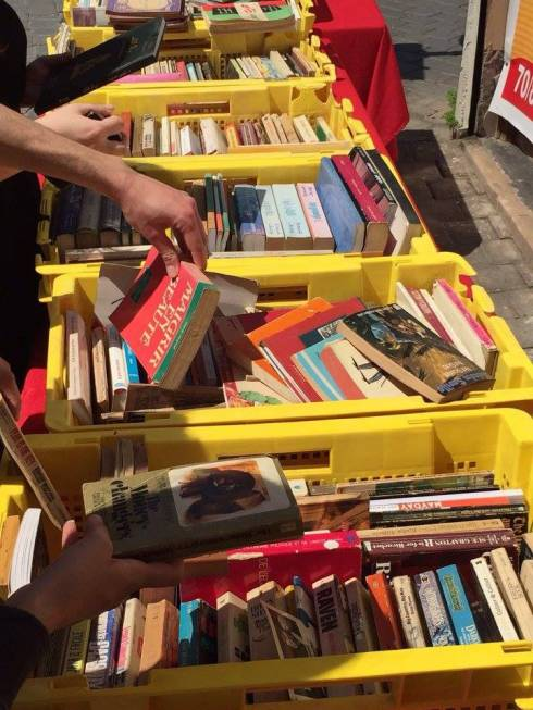 Monot Street Book Market (Saturdays [From May 7, 2016 until